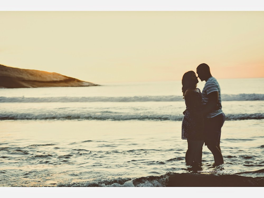 DK Photography LASTWEB-278 Robyn & Angelo's Engagement Shoot on Llandudno Beach { Windhoek to Cape Town }  Cape Town Wedding photographer