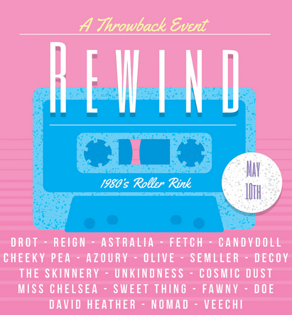 Rewind with us to the 80's!