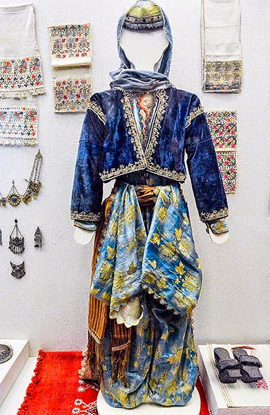 Antalya Archaeological Museum: Blue Outfit