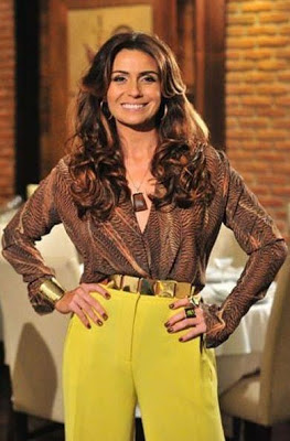 O cinto da delegada Helô, interpretada por GIovanna Antonelli.