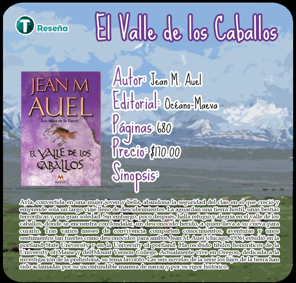 Trance de Letras: Reseña: El Valle de los Caballos de Jean