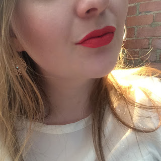 stila stay all day liquid lipstick in venezia swatch 3