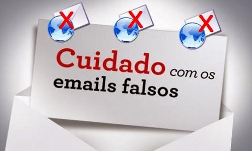 Saiba como identificar um e-mail falso