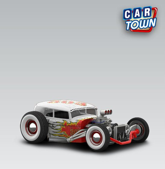 Ford Rusty Rat Rod 1932 - No Fear - Cartown templates and skins at ...