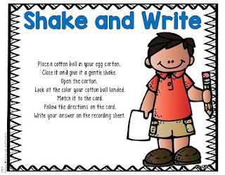 Shake and Write--First Grade and Fabulous