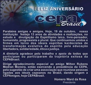 CEPABrasil 13 ANOS