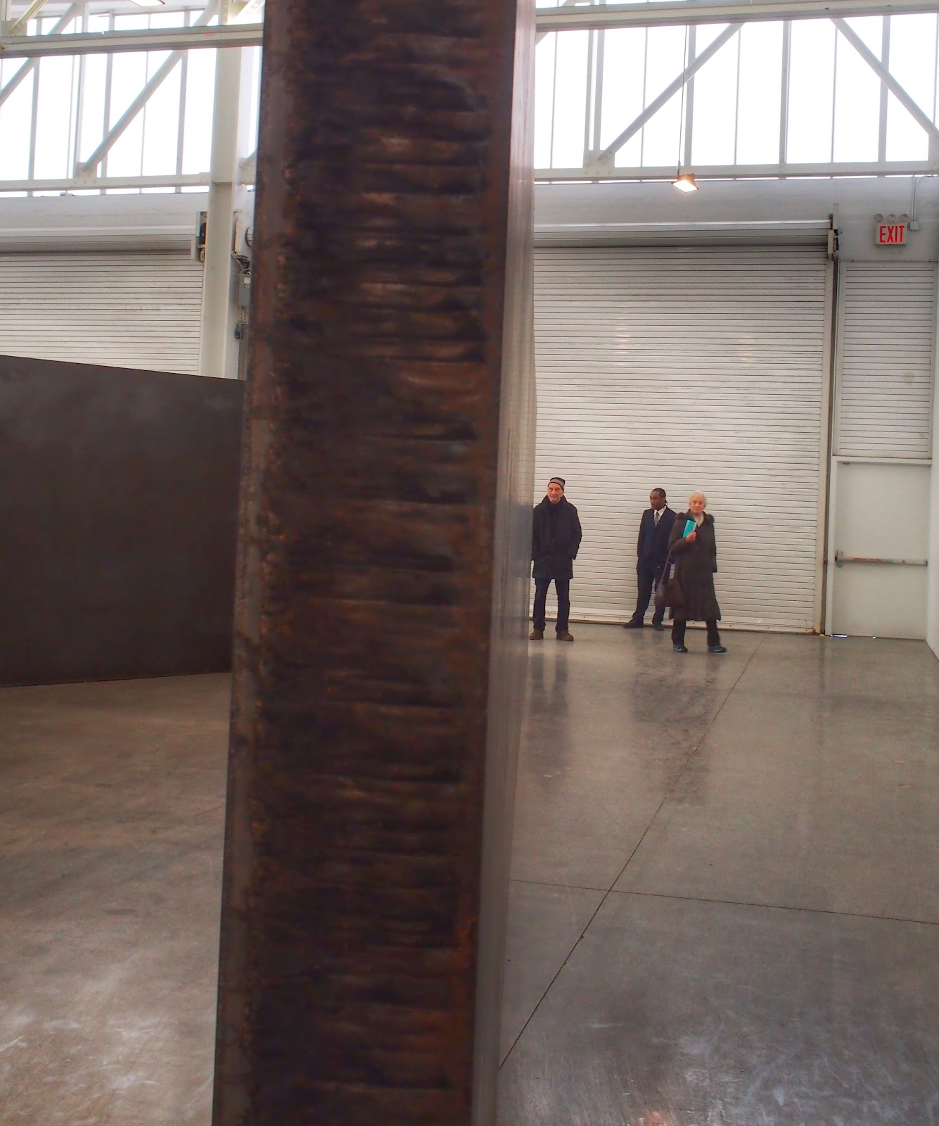 Seven Plates, Six Angles:  Richard Serra, Expedition #RichardSerra #NYC 2013