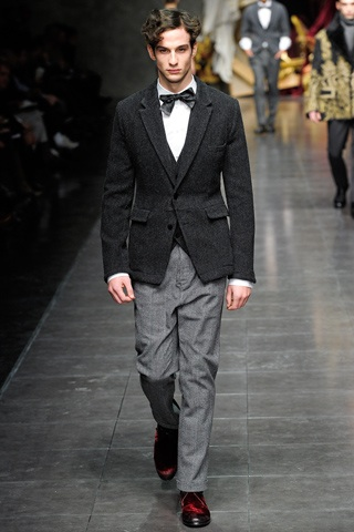Dolce & Gabbana hombres otoño 2012