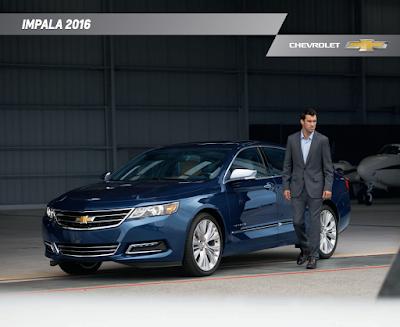 Downloadable 2016 Chevrolet Impala Brochure