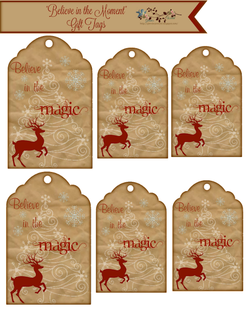 """Believe in the Magic"" Tags"