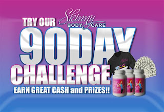 Get skinny w/ Lea and Coby! Join the Skinny Fiber 90 Day Challenge to win prizes, free gift of Ageless Anti-Aging and fitness bonus from us!
