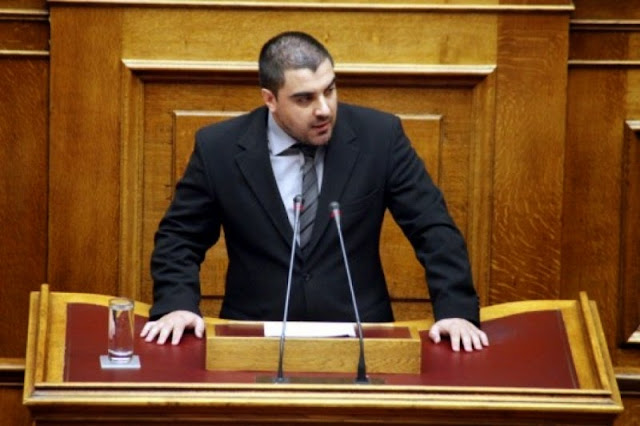 Α. Ματθαιόπουλος: Ενισχύστε την εθνική παραγωγή και όχι τους τοκογλύφους