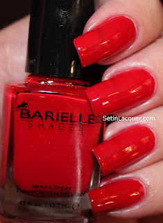 Barielle New York Style Big Apple Red nail polish
