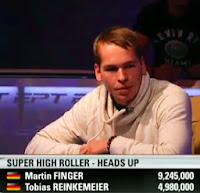 Martin Finger EPT10 Londres Super High Roller
