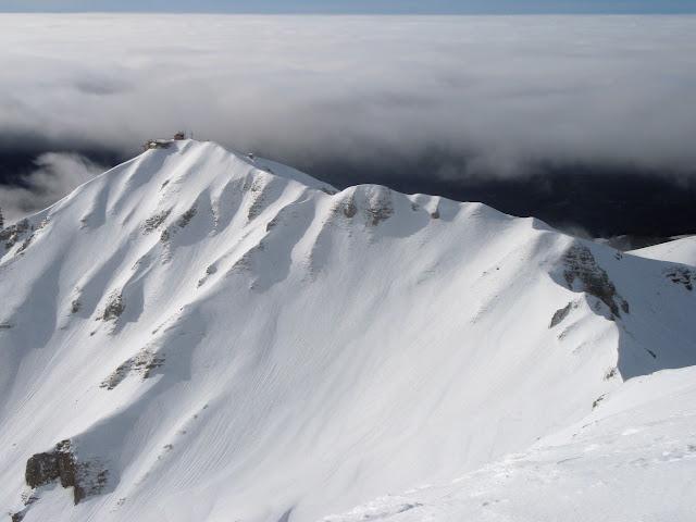 Il Terminilletto e la sua affilata cresta nord
