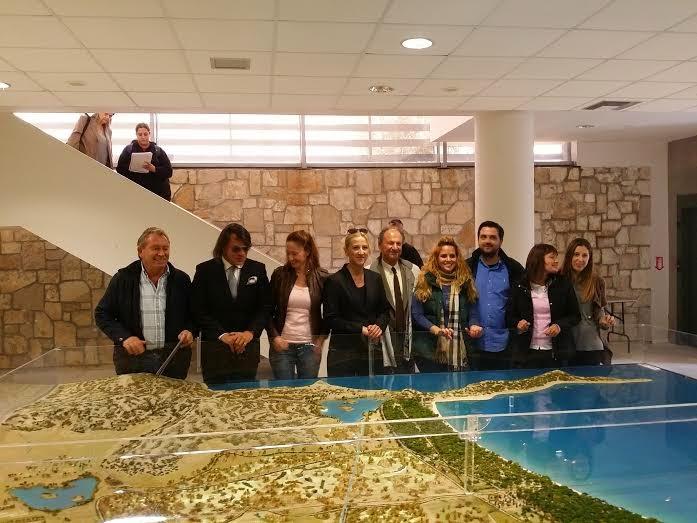 Επίσκεψη της Περιφερειάρχη Ρένας Δούρου στο Εθνικό Πάρκο Σχινιά Μαραθώνα
