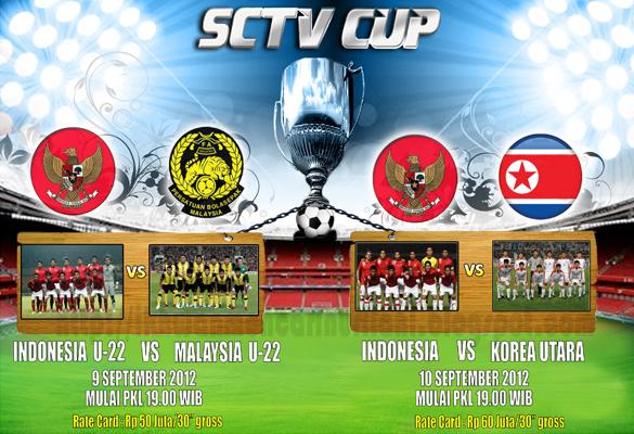 Keputusan Malaysia B22 vs Indonesia B22 Piala SCTV 9 September 2012