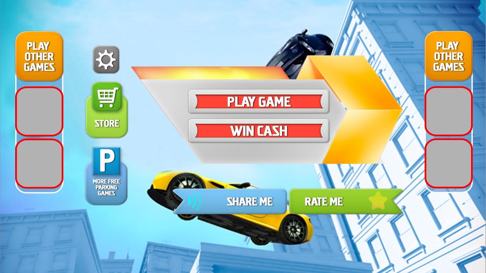 Game UI Design For Racing Game - Game ui design