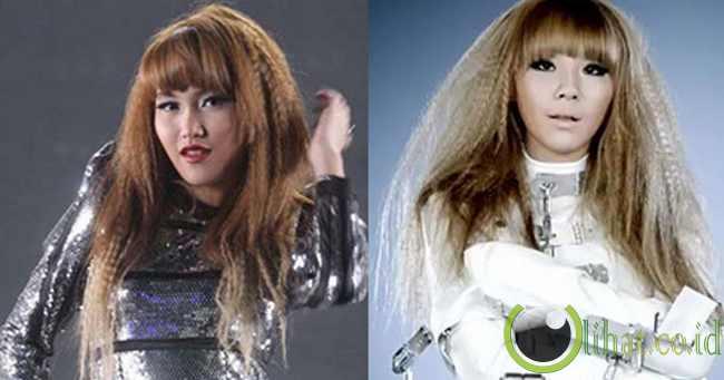 Ayu Ting Ting - CL '2NE1'