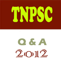 Tnpsc group 2 exam 2012