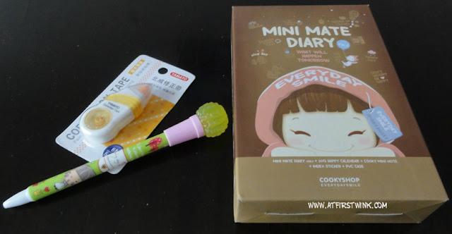 Cookyshop mini mate diary 2012