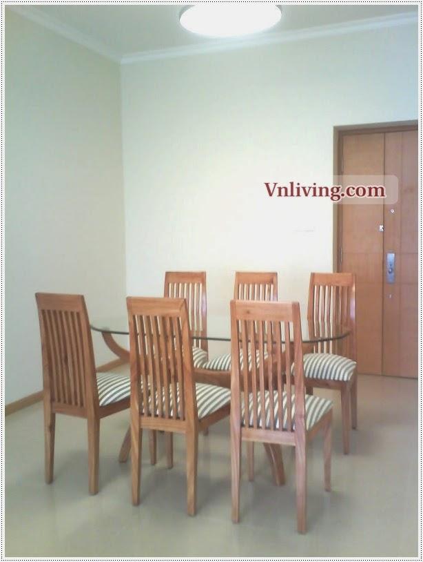 Saigon Pearl condo for rent 2 bedrooms