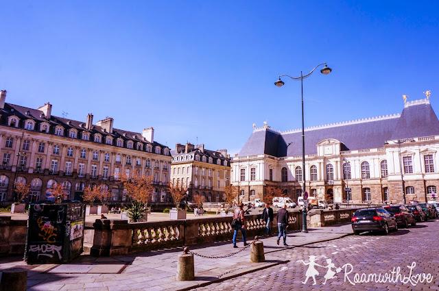 Honeymoon, france, ฮันนีมูน, รีวิว, ฝรั่งเศส, Rennes, สวีท, บ้าน, ขนม, ช็อคโกแลต, รถไฟ, TGV, Cathedral Saint Pierre de Rennes