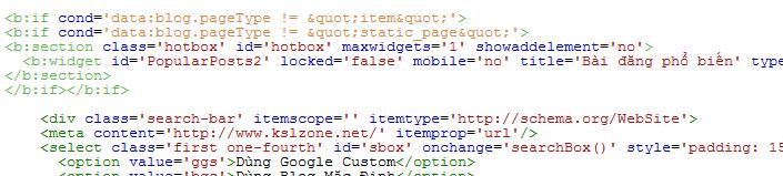 Thêm thuộc tính không hiện trên điện thoại vào Widget
