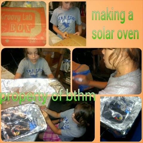 solar oven box