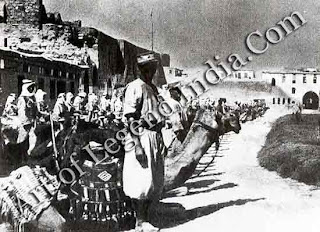 The Druze Rebellion, In 1921 General Gourand invaded Syria with a camel-equipped force to impose a French mandatory regime which backed the traditionally Francophile Christians at the expense of the predominantly moslem population. In 1925 the Druze rose in violent rebellion, forming an alliance with nationalists in Damascus.