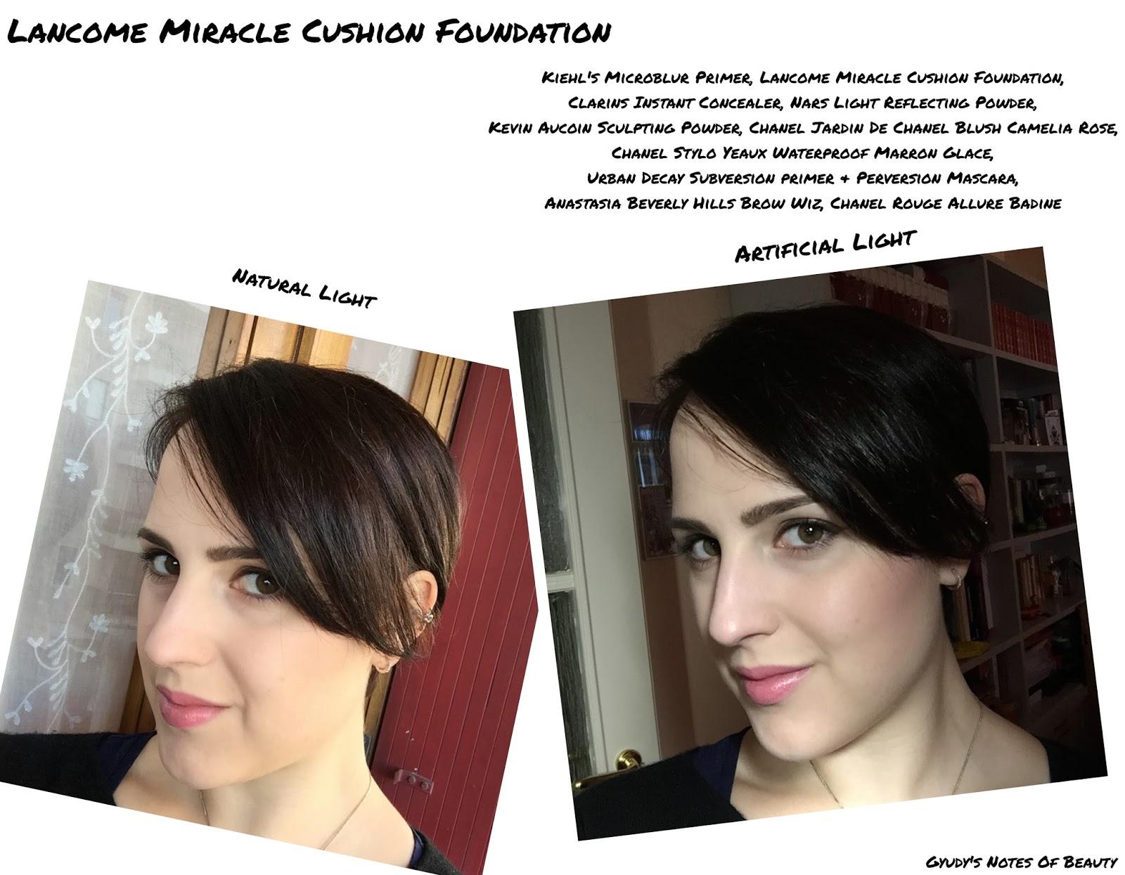 Lancome Miracle Cushion Foundation