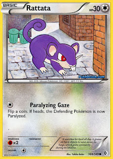Rattata Boundaries Crossed Pokemon Card