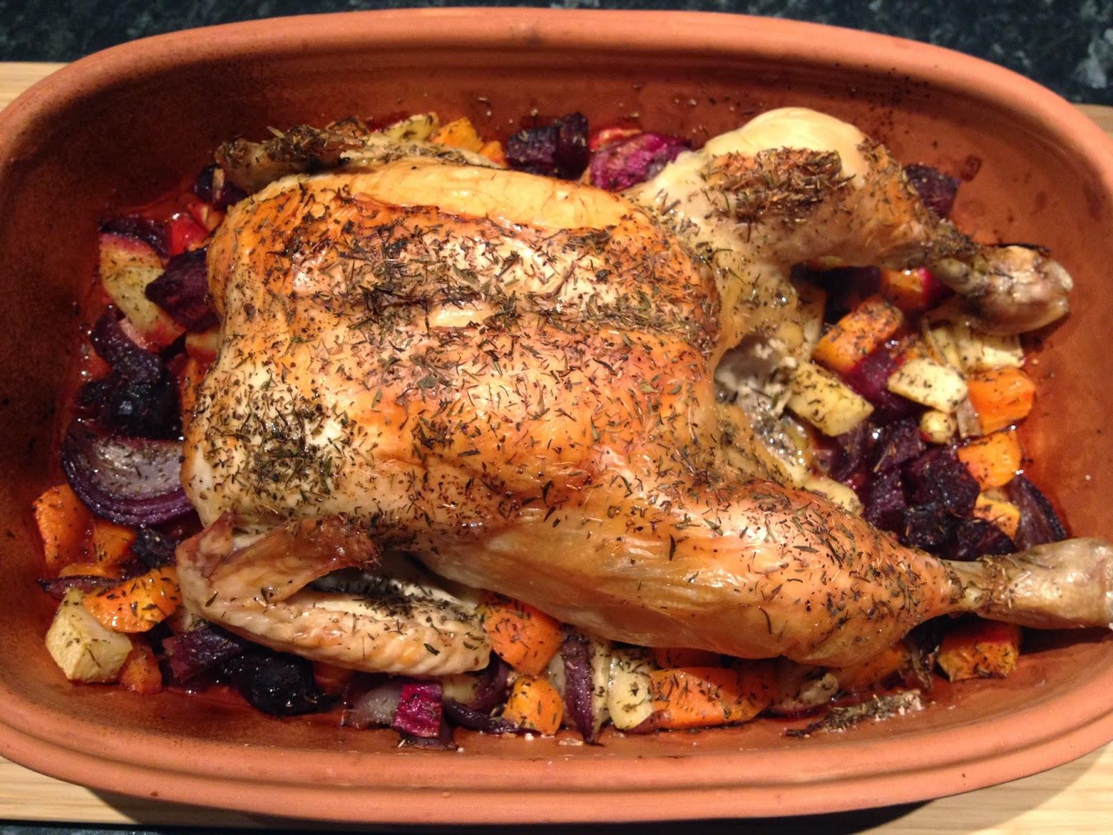 kylling i römertopf
