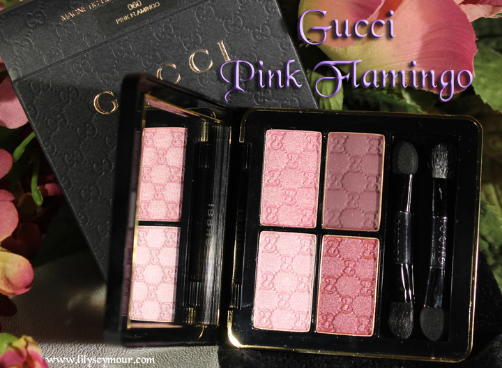 Gucci Pink Flamingo Eye Shadow Palette