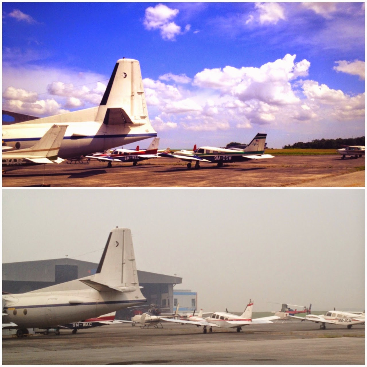 HAZE MALAYSIA SUBANG AIRPORT LOW VISIBILITY JUNE 2013
