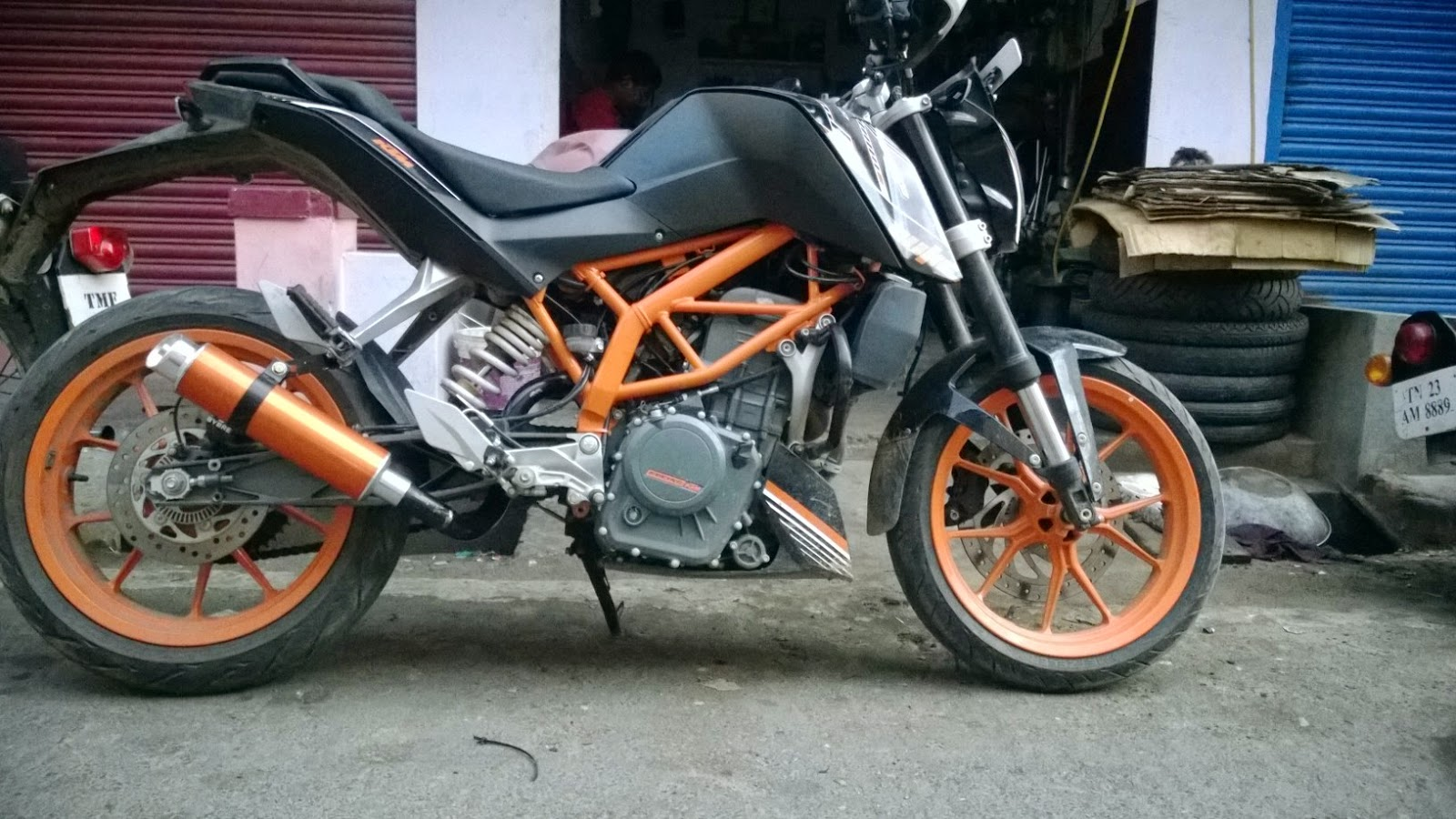 Ktm Rc Exhaust For Sale