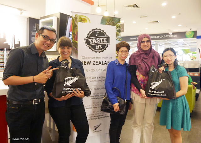 Taste New Zealand Food Fair October 2015 @ Cold Storage Malaysia