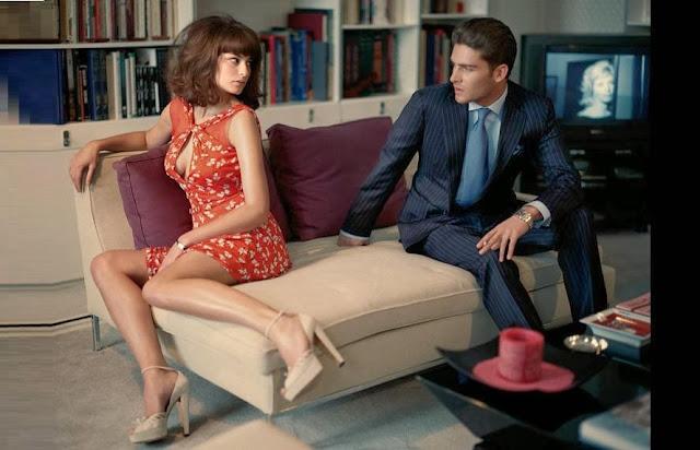 bayan giyim ve erkek giyim kreasyonları - yeni tarz erkek takım elbisesi