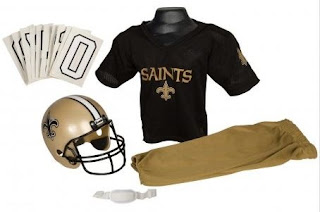 nfl costume set contents