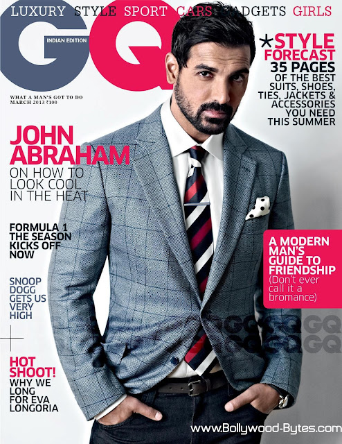 John Abraham Cover GQ India Magazine March