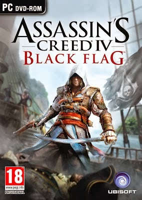 Assassin Ceed IV Black Flag PC Game Cover