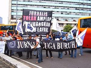 Jurnalis Juga Buruh, 1 Mei 2007 di Jakarta