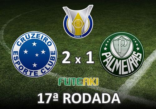 Cruzeiro 2x1 Palmeiras pela 17ª Rodada do Brasileirão 2015