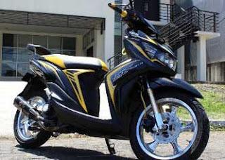 Foto Modifikasi Yamaha Mio GT