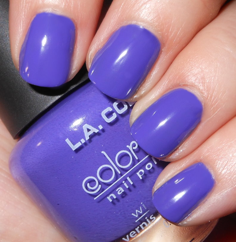 La Looks Nail Polish: Imperfectly Painted: L.A. COLORS Reckless