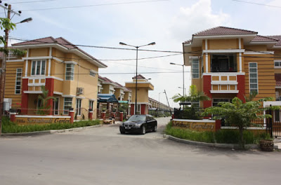 Rumah Villa Kompleks Setia Budi Garden Medan Selayang Medan