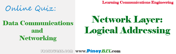 Practice Quiz in Network Layer: Logical Addressing