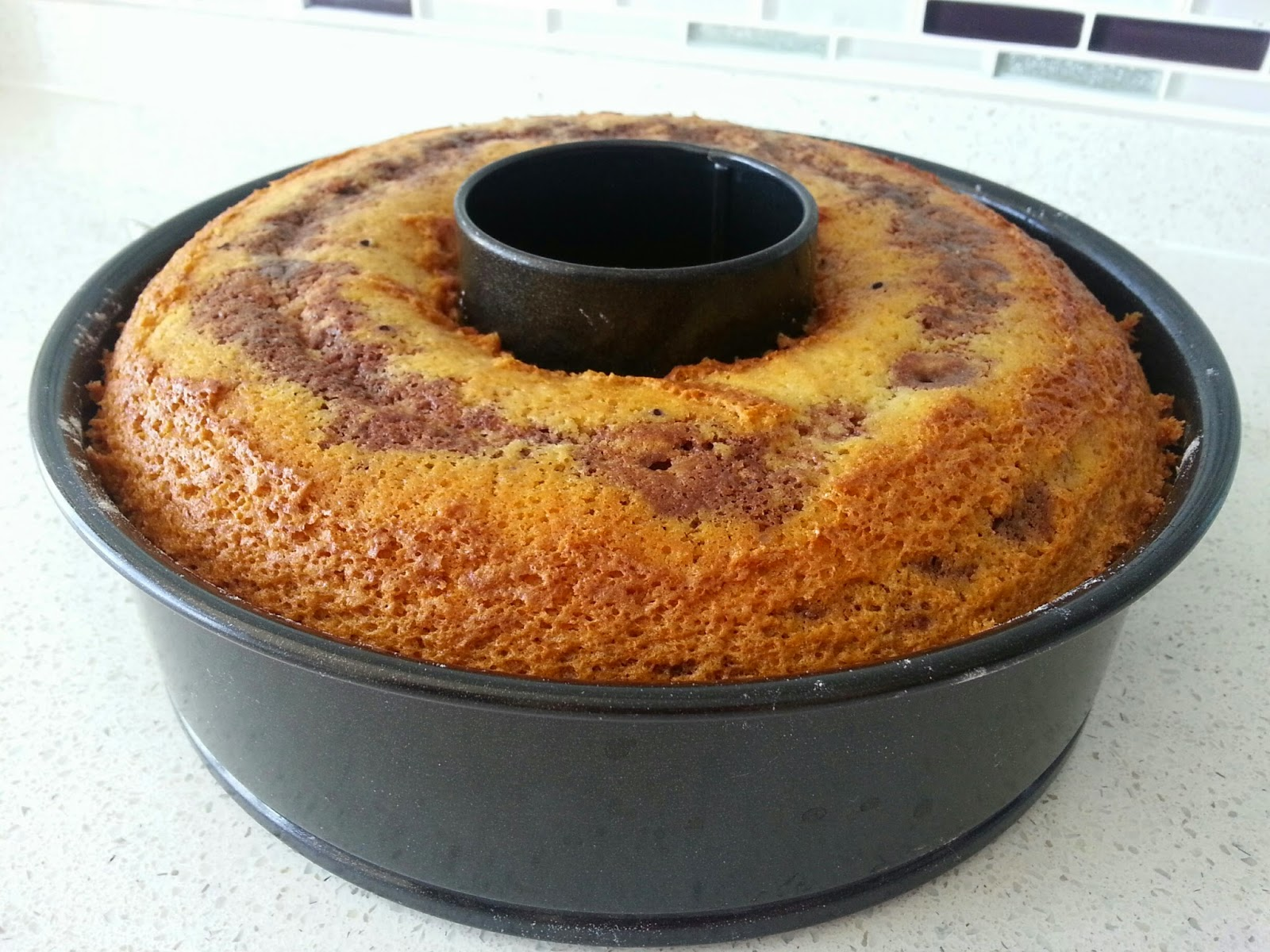 Kakaolu Sünger Kek