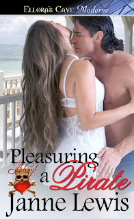 Guest Review: Pleasuring a Pirate by Janne Lewis