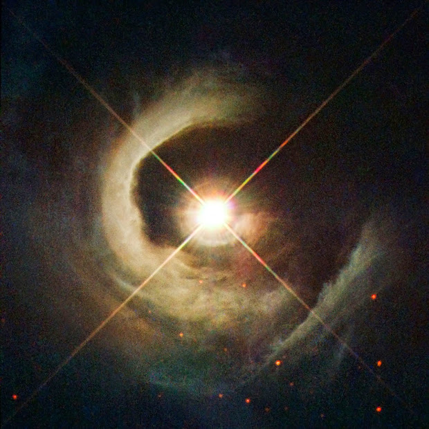 Young Star V1331 Cyg And Surrounding Nebula